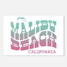 Malibu Beach California Postcards (Package of 8)