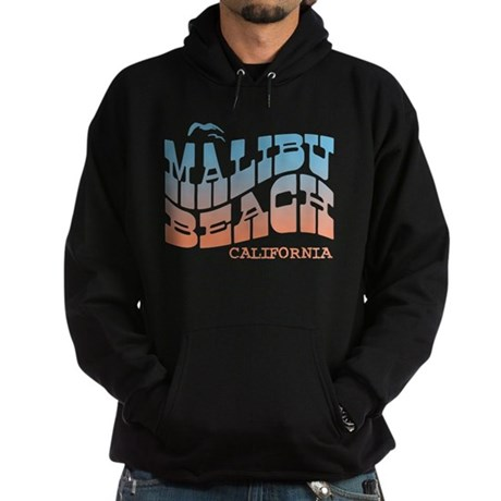 Malibu Beach California Hoodie (dark)