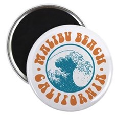Malibu Beach California Magnet