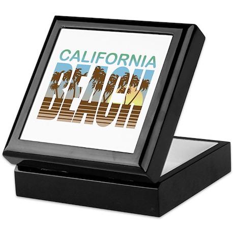 California Beach Keepsake Box