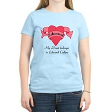 My Heart belongs to Edward T-Shirt