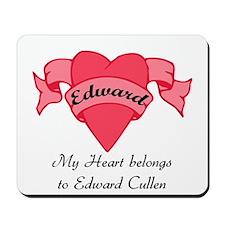 My Heart belongs to Edward Mousepad