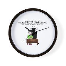 what poor spelling Wall Clock