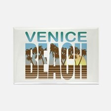 Venice Beach Rectangle Magnet