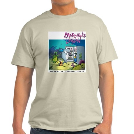 Poodle: The Other White Meat Light T-Shirt