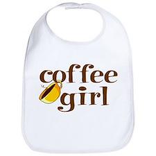 Coffee Girl Bib