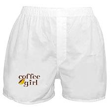 Coffee Girl Boxer Shorts