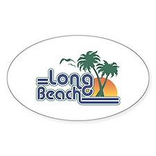 Long Beach Oval Decal