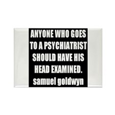goldwyn quote Rectangle Magnet