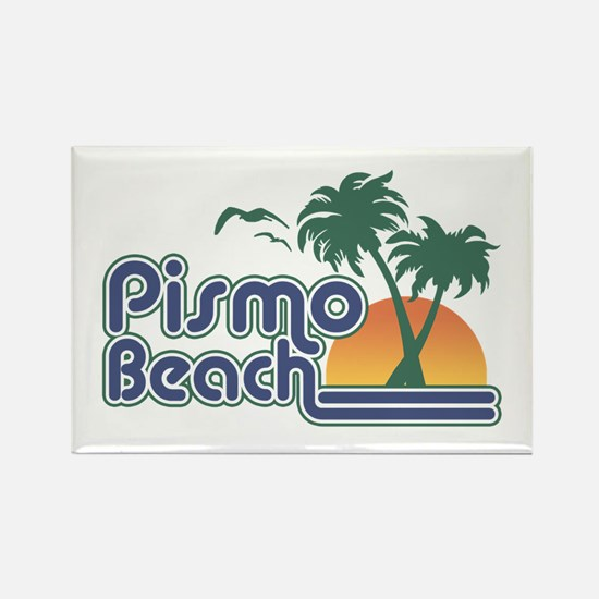 Pismo Beach Rectangle Magnet