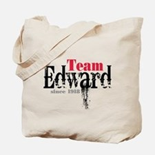 Team Edward Since 1918 Tote Bag