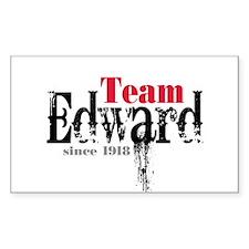 Team Edward Since 1918 Rectangle Sticker 50 pk)