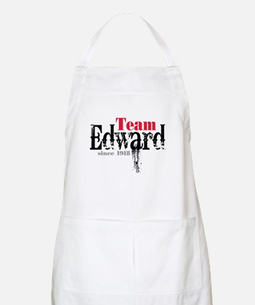 Team Edward Since 1918 BBQ Apron