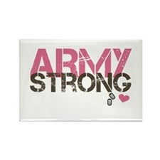 Army Strong Rectangle Magnet