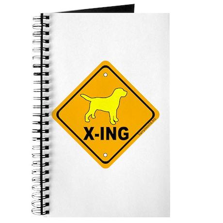 Yellow Lab X-ing Journal