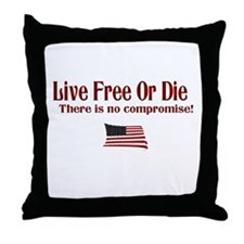 No Compromise Throw Pillow