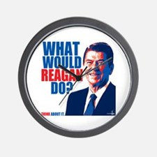 What Would Reagan Do? Design Wall Clock