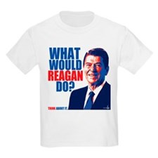 What Would Reagan Do? Design T-Shirt