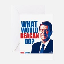 What Would Reagan Do? Design Greeting Card