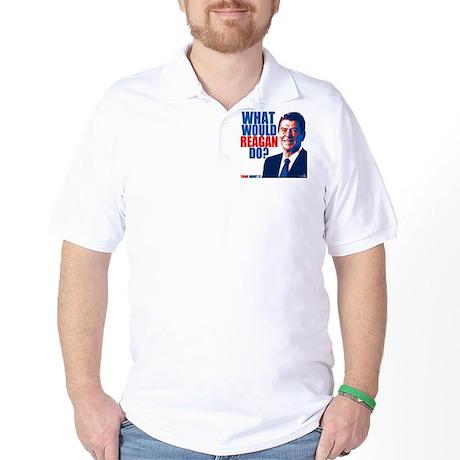 What Would Reagan Do? Design Golf Shirt