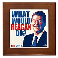 What Would Reagan Do? Design Framed Tile