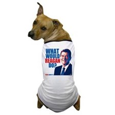 What Would Reagan Do? Design Dog T-Shirt