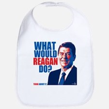 What Would Reagan Do? Design Bib