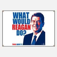 What Would Reagan Do? Design Banner