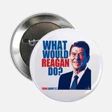 "What Would Reagan Do? Design 2.25"" Button"