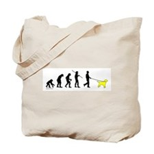 Yellow Lab Evolution Tote Bag