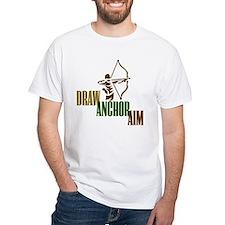 Draw. Anchor. Aim. Shirt
