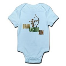 Draw. Anchor. Aim. Infant Bodysuit