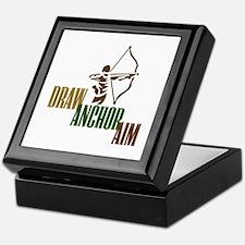 Draw. Anchor. Aim. Keepsake Box