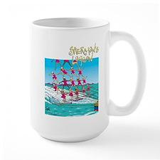Waterskiing Large Mug