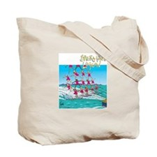 Waterskiing Tote Bag