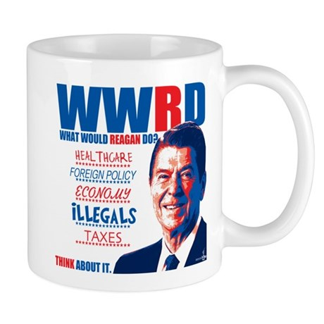 What Would Reagan Do? Design Mug