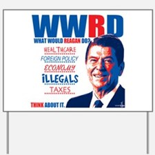 What Would Reagan Do? Design Yard Sign