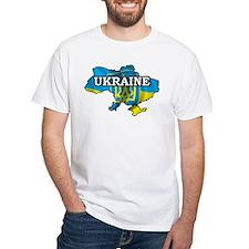 Map Of Ukraine Shirt