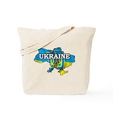 Map Of Ukraine Tote Bag