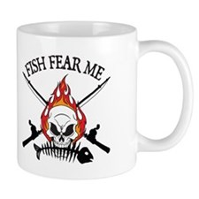 Fish Fear Me Small Mug
