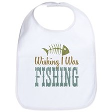 Wishing I Was Fishing Bib