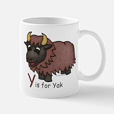 Y is for Yak Mug