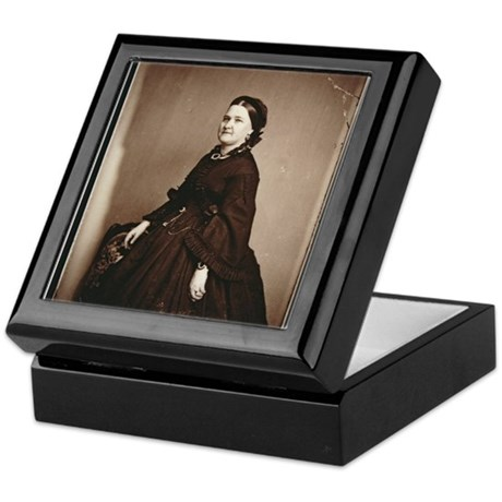Mary Todd Lincoln Keepsake Box