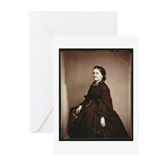 Mary Todd Lincoln Greeting Cards (Pk of 10)