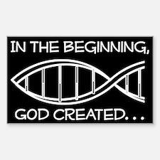 God - creation Decal