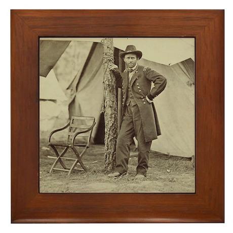 Ulysses S. Grant Framed Tile