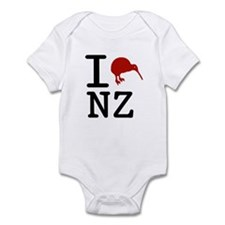 I Love New Zealand Infant Bodysuit