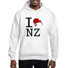 I Love New Zealand Hoodie