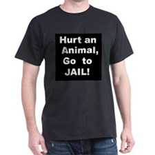 Go to Jail Black T-Shirt