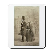 Abraham & Mary Todd Lincoln Mousepad